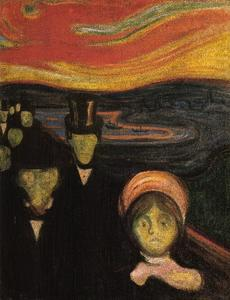 Edvard Munch - Anxiety 2