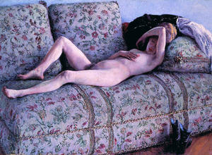 Gustave Caillebotte - nud coucs