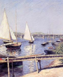 Gustave Caillebotte - Segelboote in Argenteuil