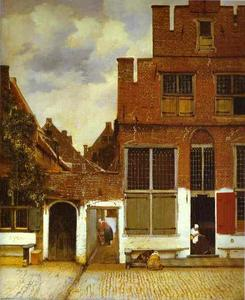 Jan Vermeer - Straße in Delfi