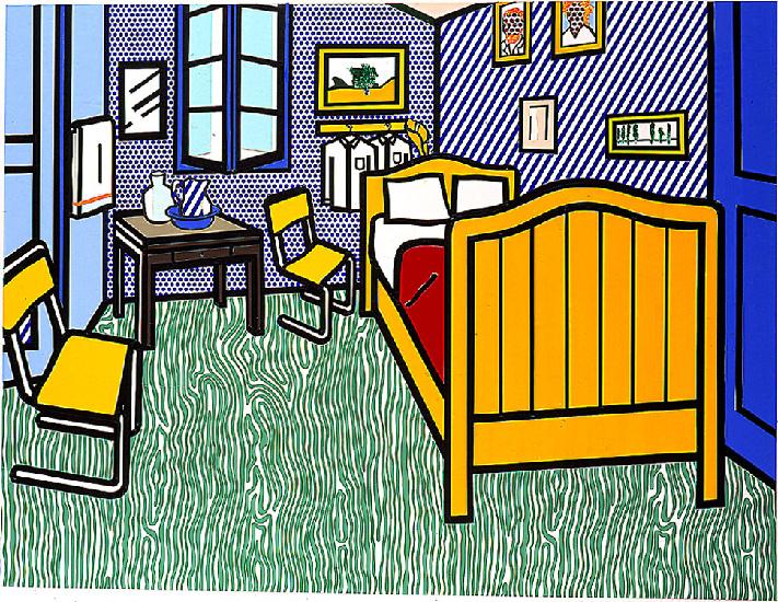 van goghs «schlafzimmer in arles» war ursprünglich lila | nzz ... - Schlafzimmer In Arles