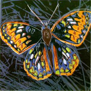Andy Warhol - Schmetterling