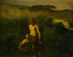 Jean-François Millet - Der Bather1