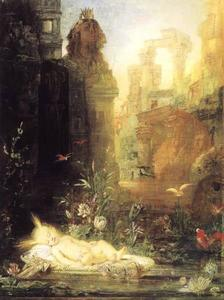 Gustave Moreau - Moses durch den Nil