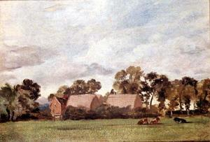 John Constable - A Suffolk Landschaft