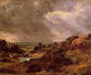 John Constable - Filiale Hill Pond Hampstead
