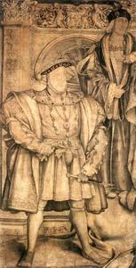 Hans Holbein The Younger - henry viii und henry vii