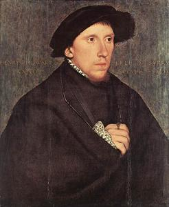Hans Holbein The Younger - porträt von henry howard , earl of surrey