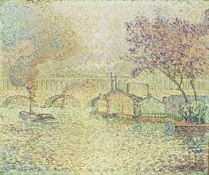 Paul Signac - Der Viaduct in Auteuil