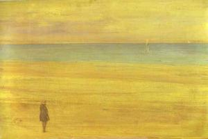 James Abbott Mcneill Whistler - harmonie in blau und silber , Trouville