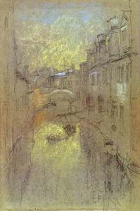 James Abbott Mcneill Whistler - Winter-Abend