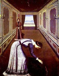 Paul Delvaux - Die Rose