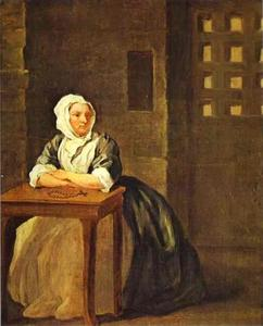 William Hogarth - sarah malcolm im gefängnis