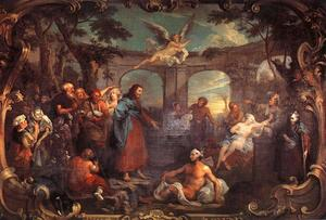 William Hogarth - Das Pool von Bethesda