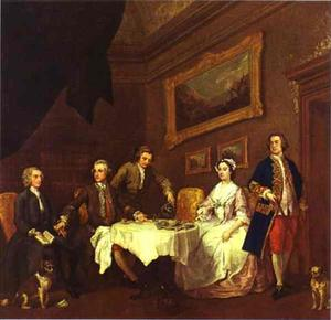 William Hogarth - Die Familie Strode