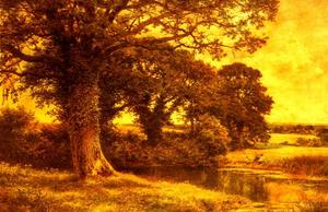 Benjamin Williams Leader - A Woodland Pool