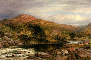 Benjamin Williams Leader - herbst in norden wales