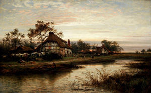 Benjamin Williams Leader - WORCESTERSHIRE COTTAGE HAUS abend