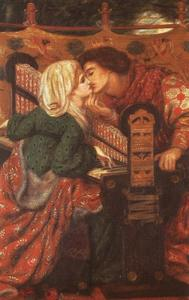 Dante Gabriel Rossetti - König Rene Honeymoon