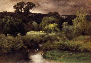 George Inness - Ein Gray , `lowery` tag