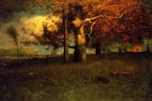 George Inness - Early Autumn, Montclair