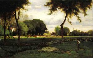 George Inness - Montclair Abend