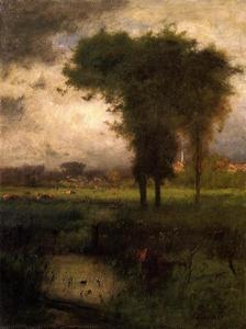 George Inness - Sommer, Montclair