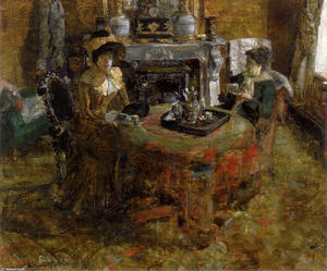 James Ensor - Nachmittag in Ostend