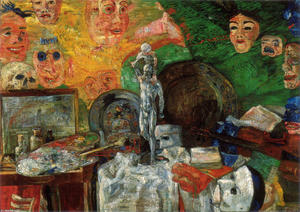 James Ensor - `attributes` von dem studio