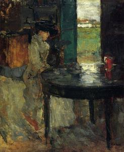 James Ensor - L Attente