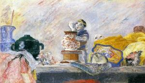 James Ensor - nature morte au magot
