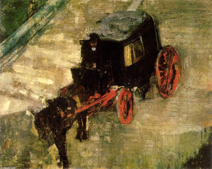 James Ensor - Der Cab