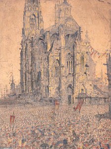 James Ensor - die kathedrale