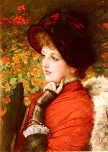 James Jacques Joseph Tissot - Art Of Beauty