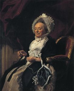 John Singleton Copley - Mrs.Seymour Fort