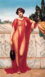 John William Godward - Athenais