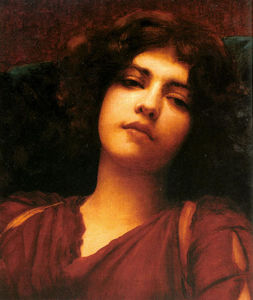 John William Godward - Träumerei studie