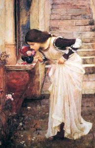 John William Waterhouse - Am Schrein