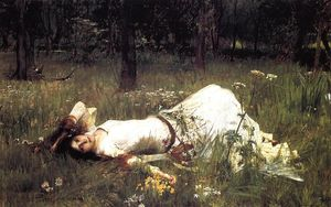John William Waterhouse - Ophelia 1