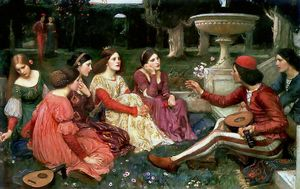 John William Waterhouse - Tale aus dem Decameron
