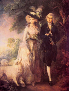 Thomas Gainsborough - Herr und Frau William Hallett