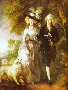 Thomas Gainsborough - William Hallett und seiner Frau Elizabeth, geborene Stephen