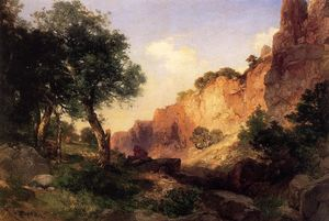 Thomas Moran - das grand Canyon - Hance Trail