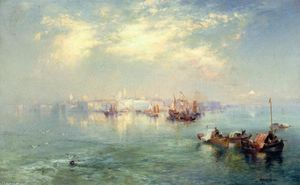 Thomas Moran - Vera Cruz Harbor, Mexiko