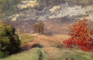 Winslow Homer - Herbst , Mountainville , Neuen York