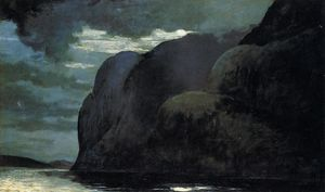 Winslow Homer - Cape Trinity, Saguenay Fluss