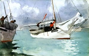 Winslow Homer - fischerboote , key west