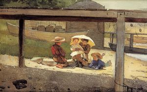 Winslow Homer - in `charge` von baby