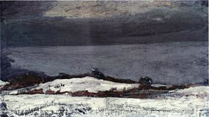 Winslow Homer - Prouts Neck im Winter
