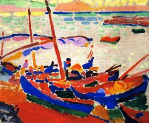 André Derain - angeln boote , Collioure